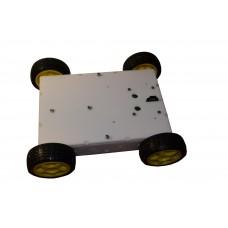 Корпус робота четырех колесный